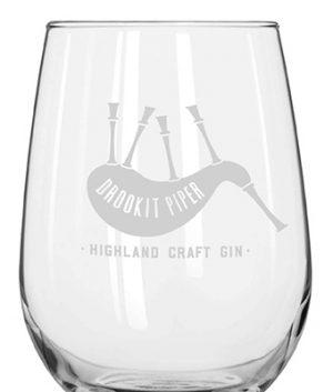 Drookit Piper Glass