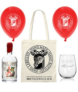 Devil's Staircase goody bag